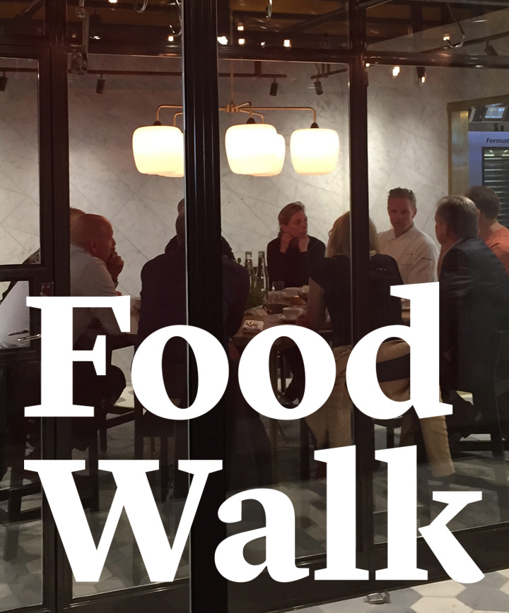 Crossover Creative | Food Walk